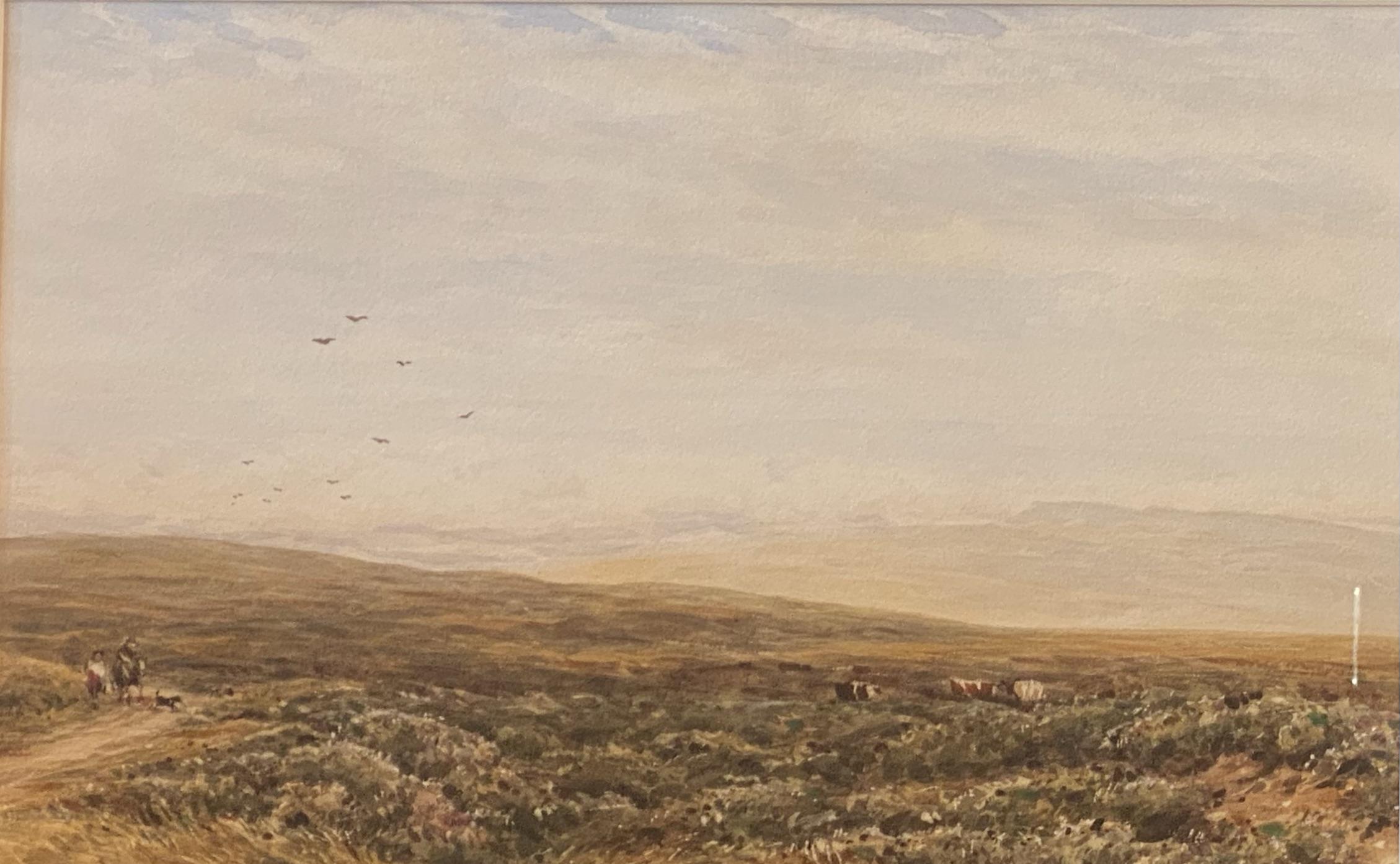 James Orrock RI ROI (1829-1913) signed watercolour Moorland