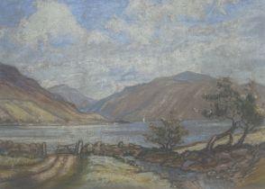 """William Douglas Macleod Scottish 1892-1963 signed pastel """"Glenelg"""""""