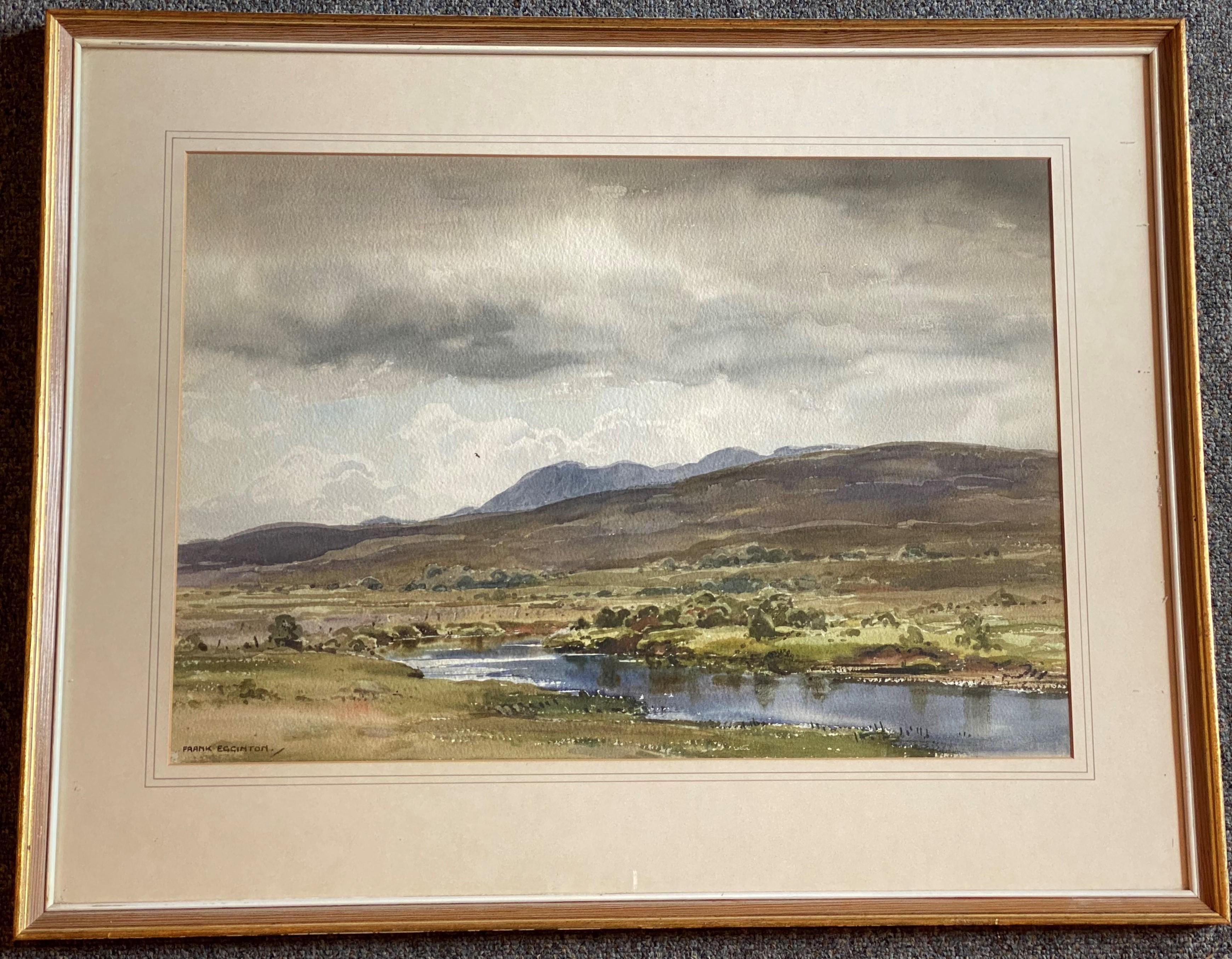 Frank Egginton RCA FIALL 1908 – 1990 signed watercolour Irish Landscape - Image 2 of 3