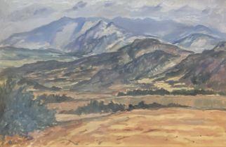 Alexnder G Cairns Smith landscape oil painting