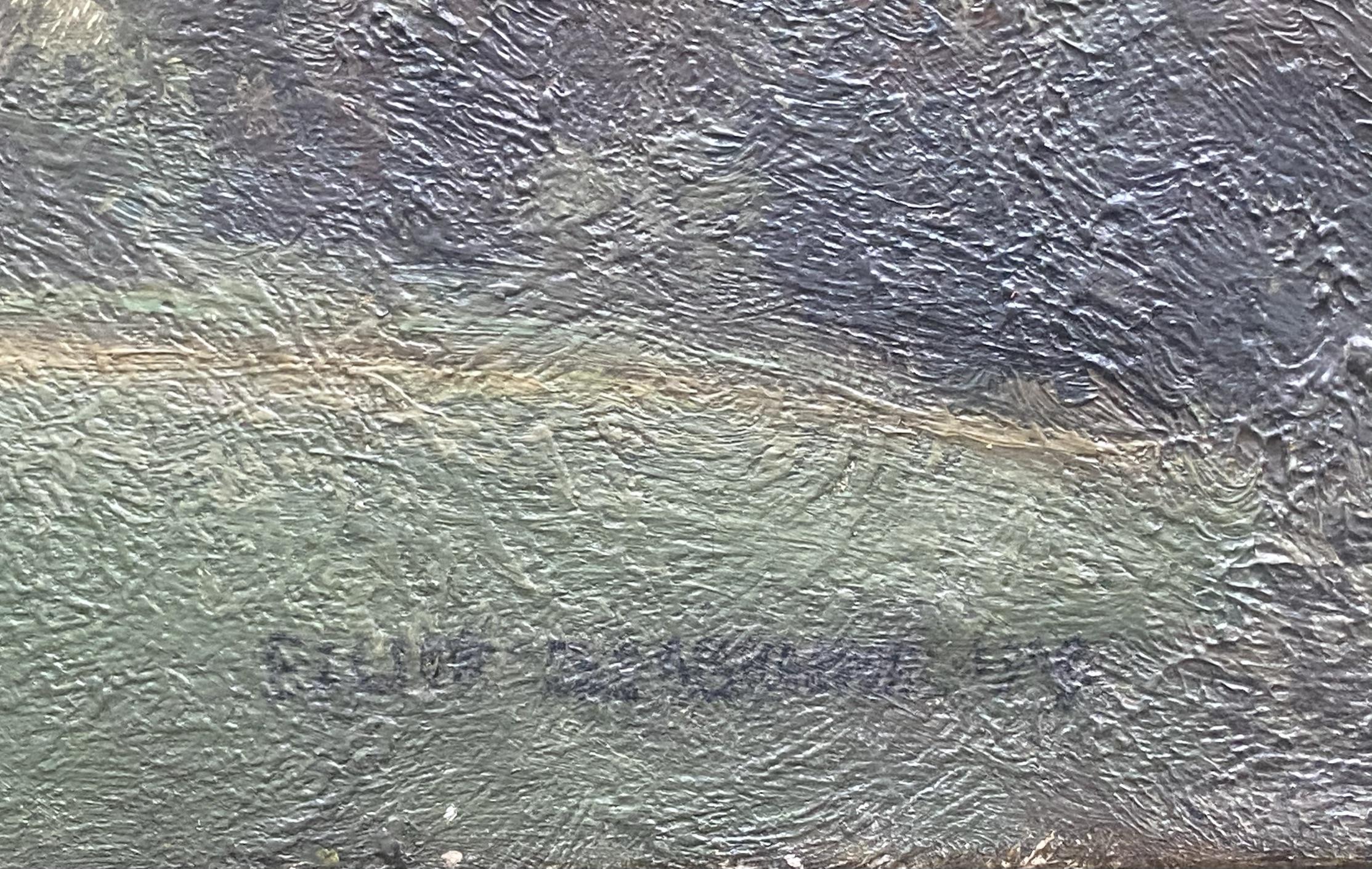 Elliot Seabroke 1886-1950 large signed original oil English Valley - Image 3 of 6