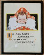 Vintage Mabel Lucie Attwell Framed Print