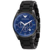 Emporio Armani AR5921 Men's Sportivo Blue Dial quartz Chronograph Watch