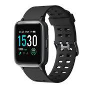 Brand New Unisex Fitness Tracker Watch ID205 Black Strap