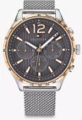 Tommy Hilfiger 1791466 Men's Gavin Two Tone Mesh Bracelet Watch