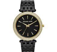 MICHAEL KORS MK3322 Darci Gold & Black Stainless Steel Ladies Watch