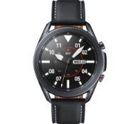 Refurbished in pristine condition Samsung Galaxy Watch3 GPS Mystic Black 45MM