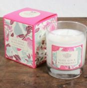 3 X The Country Candle Company Sloe Gin & Blackberry Glass Candle Gift Box
