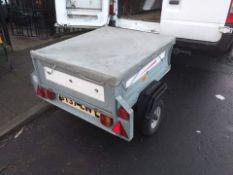 Erde car trailer 3ft by 3ft