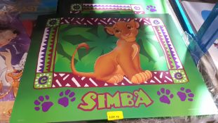 (R6O) A Quantity Of Disney Simba Posters (New)