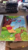 (R6M) Approx 100 X Mixed Encapsulated Disney Posters (New)