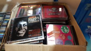 (R6P) Audio. Contents Of 11 Containers. A Large Quantity Of Mixed CD's & 1 X Container Of Blank C