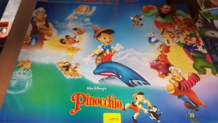 (R6O) Approx 100 X Mixed Encapsulated Disney Posters (New)