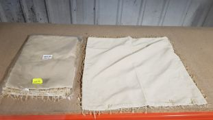 (R6N) Household. Approx 250 X Frilled Cushion Cover (New)