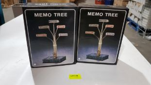 (R6J) Office. 72 X Memo Tree (New)