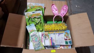 (R6O) Contents Of 11 Boxes. Mixed Easter Items (All New)