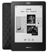 (R6B) Tech. 1 X Kobo eReader Touch Edition Black Quilt. RRP £99.99 (New)