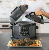 (R6B) Kitchen. 1 X Ninja Foodi 6L Pressure Cooker That Crisps. RRP £169.99 (New)
