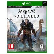 (R6B) Gaming. 1 X Xbox One / Series X Assassins Creed Valhalla 4K Ultra HD HDR. RRP £49.99 (Tested)