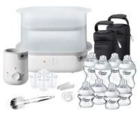 (R6C) Baby. 1 X Tommee Tippee Closer To Nature Complete Feeding Set. RRP £74.99 (New)