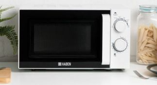 (R6B) Kitchen. 1 X Haden 20L Chester Microwave. RRP £95.99 (New)