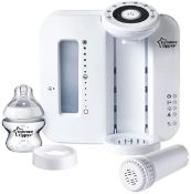 (R6E) Baby. 2 Items. 1 X Tommee Tippee Perfect Prep Machine. & 1 X Tommee Tippee Closer To Nature