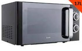 (R6C) Kitchen. 1 X Breville 17L Solo Microwave Oven (Clean, Appears New – Dent On Right Side Of Uni