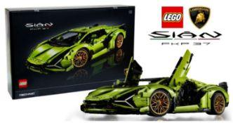 (R6B) Lego. 1 X Lego Technic Lamborghini SIAN FKP 37 (Model 42115) RRP £349.99 (New)