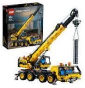 (R6A) Toys. 1 X Lego Technic Mobile Crane 42108 (Appears Complete). RRP £89.99