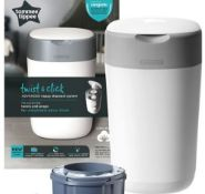 (R6E) Baby. 1 X Tommee Tippee Twist & Click Advanced Nappy Disposal System