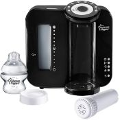 (R6D) Baby. 1 X Tommee Tippee Closer To Nature Perfect Prep Machine Special Edition Black. RRP £80