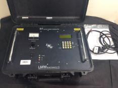 Lmv st survey signal generator in peli case