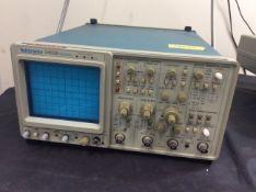 Tektronix 2465b 4 channel analog oscilloscope