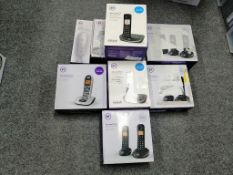 BT PANASONIC GEEMARC BINATONE BENROSS - 19 Items - RRP £660 - BOX105