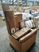 Untested Customer Returns - Bedroom Furniture - 11 Items - RRP £540 - PLT185