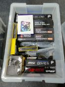 ASROCK MSI CORSAIR ASUS GAMEMAX - 23 Items - RRP £1189 - BOX104