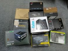 Customer Returns PSU's & PC Parts - 12 Items RRP £ 636 - BOX110