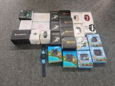 Job Lot Of Customer Return Smart Watches - 25 Items - RRP £ 892 - BOX108