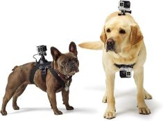 6xGoPro Fetch Dog Harness Mount MediumLarge Dogs 15-120lbs Total RRP £240