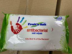 1 Pallet Of New Fresh n soft Antibacterial wipes