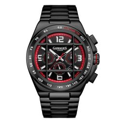 Limited Edition Hand Assembled Gamages Bastion Automatic Black – 5 Year Warranty & Free Delivery