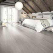 (R4F) Approx. 11.96 m2 Egger Home Aqua + Laminate Grey Toscalano Oak
