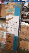 (R4D) 1 X 4x4 Clever Cube Storage Unit - Oak Finish (H1460mm W1460mm D390mm)