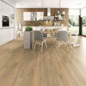 (R3I) Approx. 1.99 m2 Egger Home Laminate Flooring Natural Creston Oak