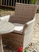 (R3K) 1 X Hartman Appleton Outdoor Dining Chair - Garden Patio Decking Seating – Weather-ready Cush