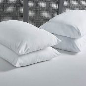 (R4E) 4 X (2 Pack) Anti Allergy Soft Comfort Soft Touch Pillow