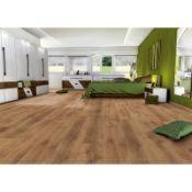 (R4D) Approx. 21.94 m2 Egger Beaumont Oak Natural Basic Laminate Flooring