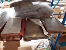 (R7M) 24 Items. 13 X La Plana (250mm x 498mm x 7mm) Ceramic Tile Alaplana, 5 X (560mm x 298mm x5mm