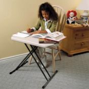 (R7H) 4 X Lifetime 658mm Personal Table (Appears New)