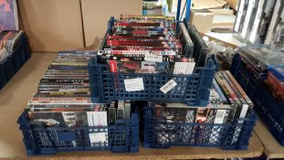 (R9E) Approx 83 X Mixed 15 & 18 Rated DVDs TO Include Django Unchained, Cobra Kai, Doctor Sleep, Br